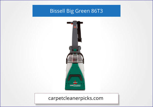 Bissell Big Green Professional, 86T3