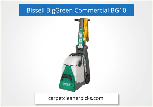 Bissell BigGreen Commercial BG10