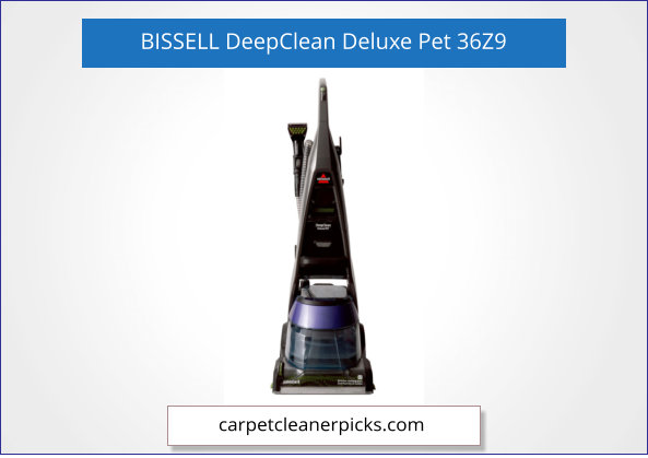BISSELL DeepClean Deluxe 36Z9 Carpet Cleaner for Pets