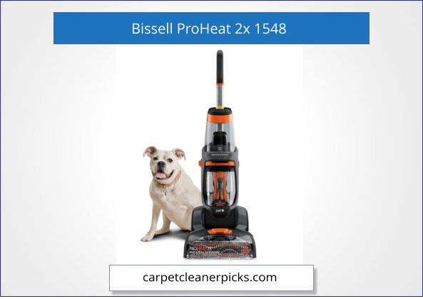 Bissell ProHeat Revolution, 1548