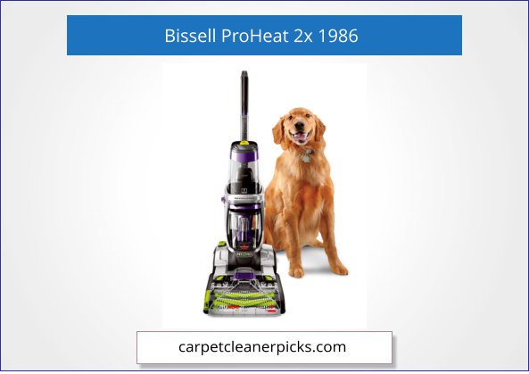 Bissell ProHeat Revolution Max, 1986