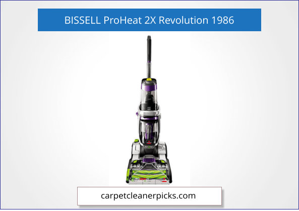 BISSELL ProHeat 2X Revolution 1986 Carpet Cleaner for Pets