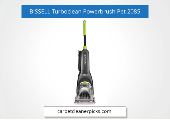 BISSELL Turboclean Powerbrush Pet 2085
