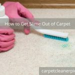 How to Get Slime Out of Carpet in 7 Incredible Ways